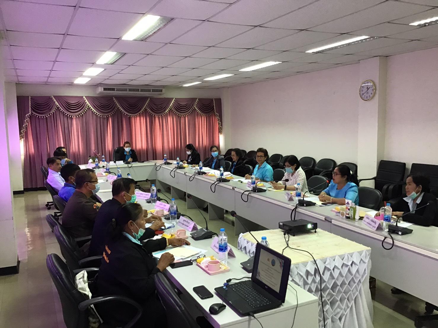 แรงงานจังหวัดสุราษฎร์ธานี จัดประชุมคณะอนุกรรมการบริหารจัดการแรงงานนอกระบบจังหวัดสุราษฎร์ธานี ครั้งที่ 1/2563